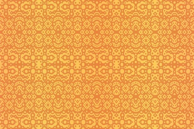 美しい黄金の抽象的なシームレスパターン