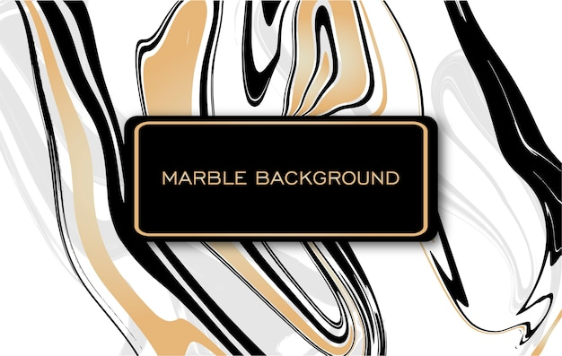 Beautiful golden and black marble texture