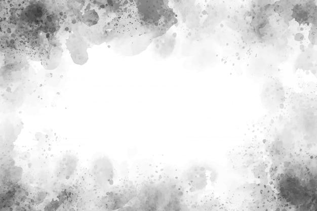 Красивый серый акварельный всплеск текстурированный фон гранж