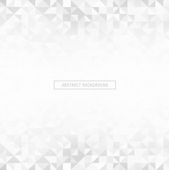 Beautiful grey polygon vector background