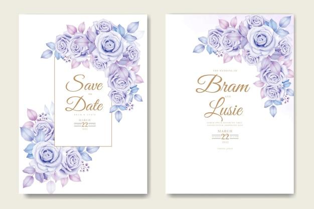 Красивая рука рисунок свадебные приглашения цветочный дизайн