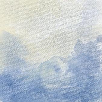 美しい手は、水彩の背景を描いた