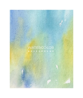 Beautiful hand painted watercolor background