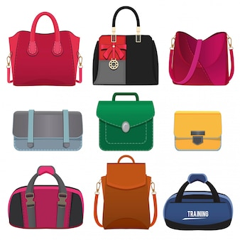 Beautiful handbags for women.