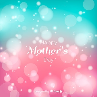 Beautiful happy mothers day greeting card