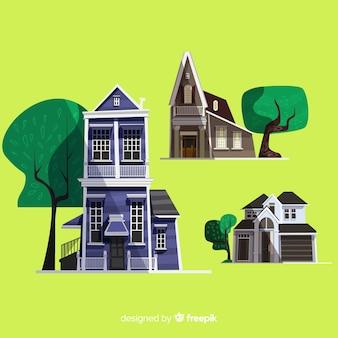 美しい住宅セット