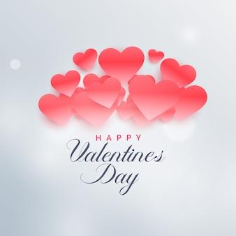 愛のバレンタインデーの美しいイラスト