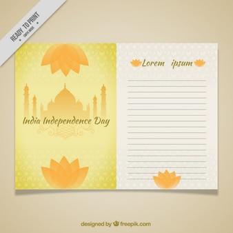 Beautiful india card