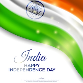 Beautiful indian independence day