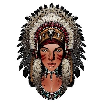 Beautiful indian lady