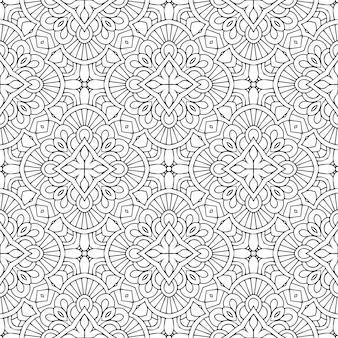 Beautiful indian traditional seamless pattern