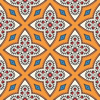 Beautiful indian traditional seamless pattern