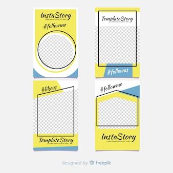 美しいinstagram storyテンプレートコレクション