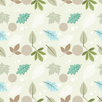 Beautiful leaf seamless pattern for fabric textile wallpaper.