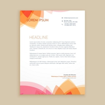 Beautiful letterhead design