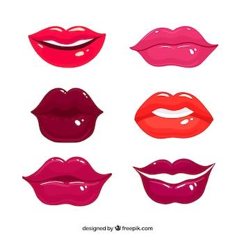 Набор красивых губ