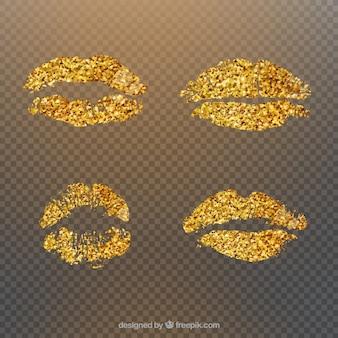 Beautiful lips set