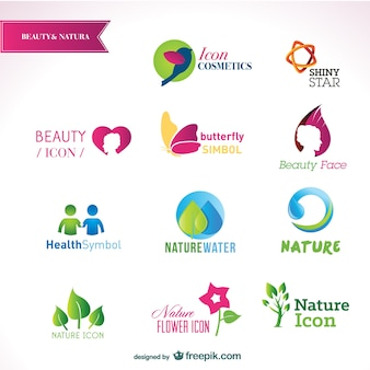 Beautiful logos templates
