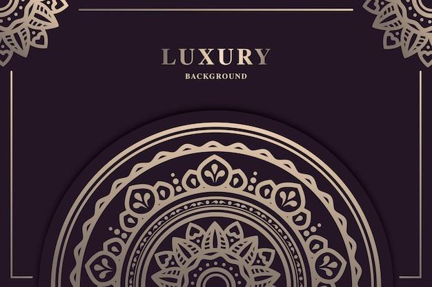 Beautiful luxury mandala background
