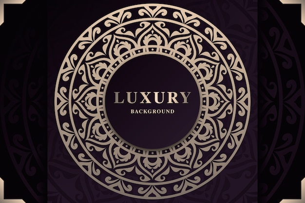 Beautiful luxury mandala screensaver