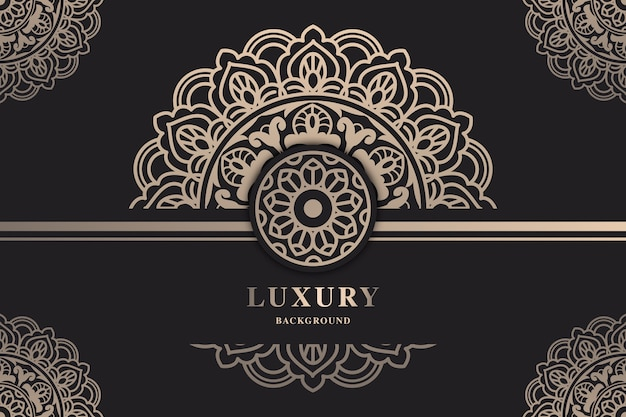 Beautiful luxury mandala wallpaper