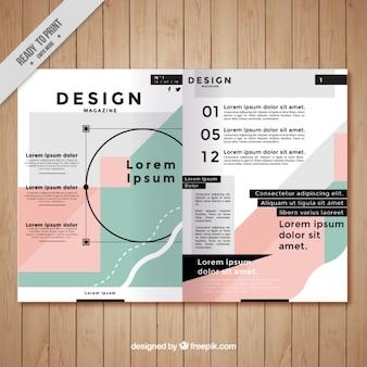 Beautiful magazine template