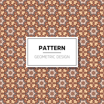 Beautiful mandala seamless pattern background design Free Vector