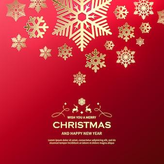 Beautiful merry christmas background