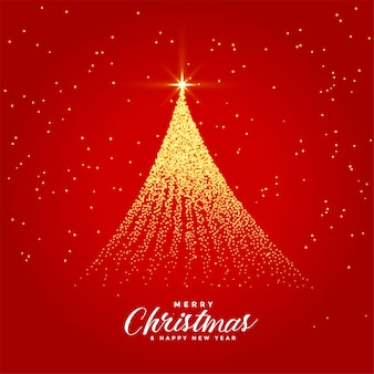 Beautiful merry christmas festival greeting card