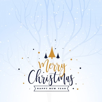 Beautiful merry christmas holiday festival background