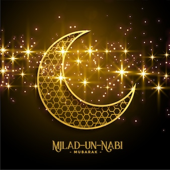Beautiful milad un nabi sparkles background