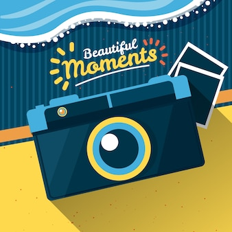 Beautiful moments illustration