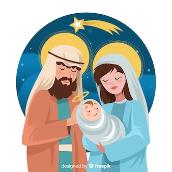 Beautiful nativity background