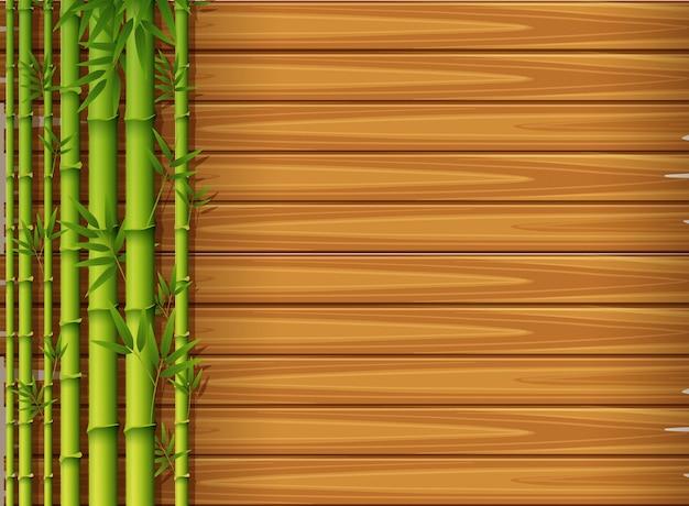 아름다운 자연 대나무 템플릿