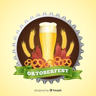 Beautiful oktoberfest background