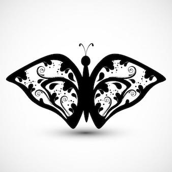 Beautiful ornamental butterfly