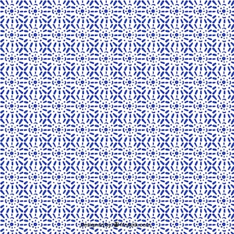 Beautiful ornamental tile pattern