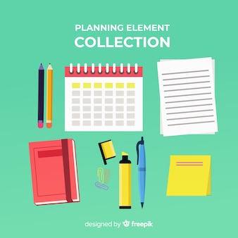 Beautiful pack of planning elements