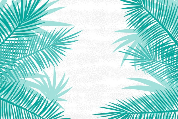Beautiful palm tree leaf background.
