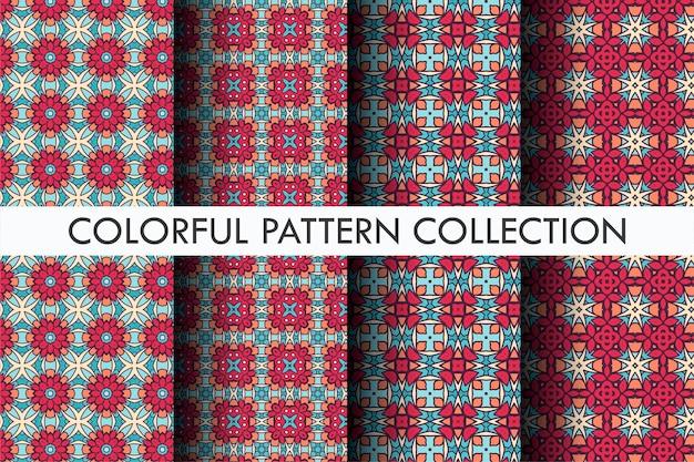 장식 스타일로 설정 아름 다운 패턴