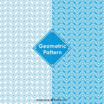 Beautiful patterns with rounded forms Free Vector
