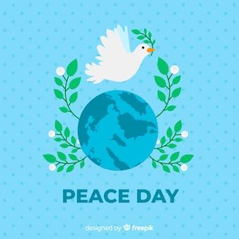 Beautiful peace day background