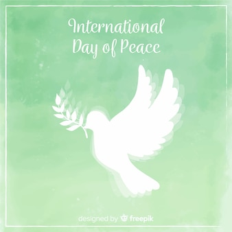 Beautiful peace day background