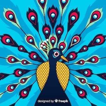 Beautiful peacock background