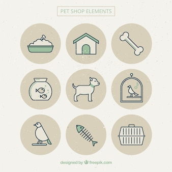 Beautiful pet items
