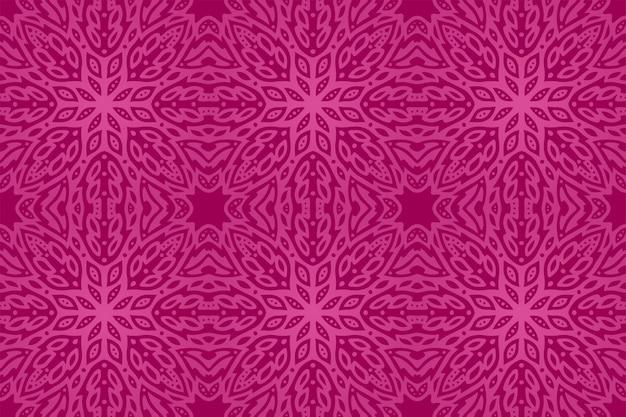 美しいピンクの抽象的なシームレスパターン