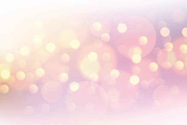 Beautiful pink bokeh soft blurred background