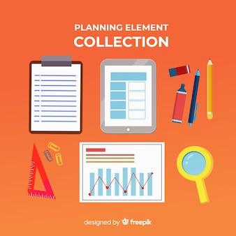 Bellissimo esempio di elementi di pianificazione
