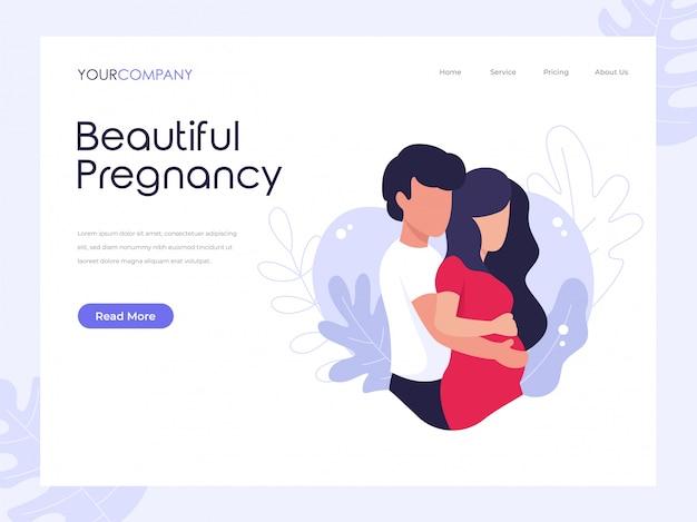 아름다운 임신 방문 페이지