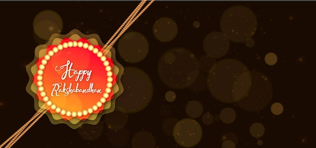 Beautiful rakhi background for raksha bandhan
